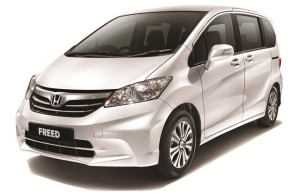 El Honda Freed Hybrid 2013